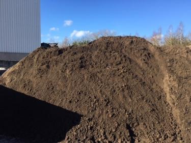 Compost met grond